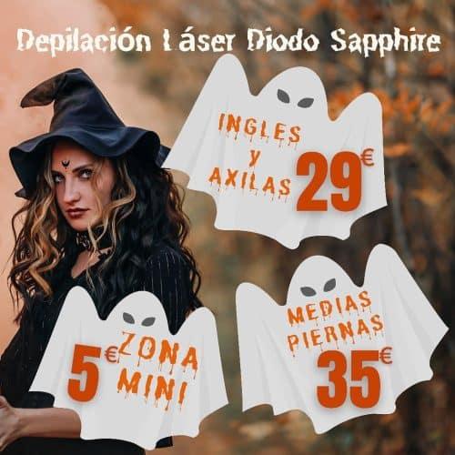 promo depilacion hallowen Sevilla